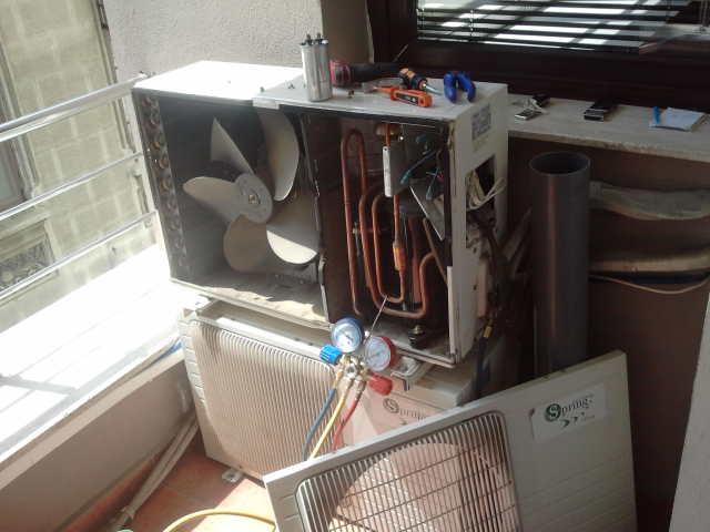 incarcare freon aer conditionat