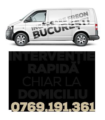 Incarcare freon aer conditionat Bucuresti ilfov